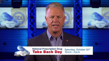 DEA Prescription Drug Take Back Day TV Spot, 'October' Ft. Boomer Esiason