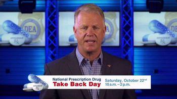 DEA Prescription Drug Take Back Day TV Spot, 'October' Ft. Boomer Esiason - 10 commercial airings