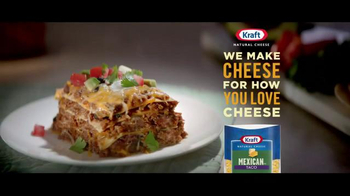 Kraft Shredded Mexican Taco Cheese TV Spot, 'Bon Appe-cheese' - Thumbnail 9