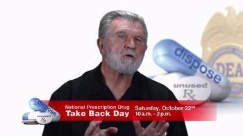 DEA TV Spot, '2016 National Prescription Drug Take Back Day' Ft. Mike Ditka - Thumbnail 2
