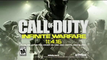 Call of Duty: Infinite Warfare TV Spot, 'Launch: Beta' - 87 commercial airings