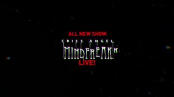 Luxor Hotel and Casino Las Vegas TV Spot, 'Criss Angel: Mindfreak' - Thumbnail 9
