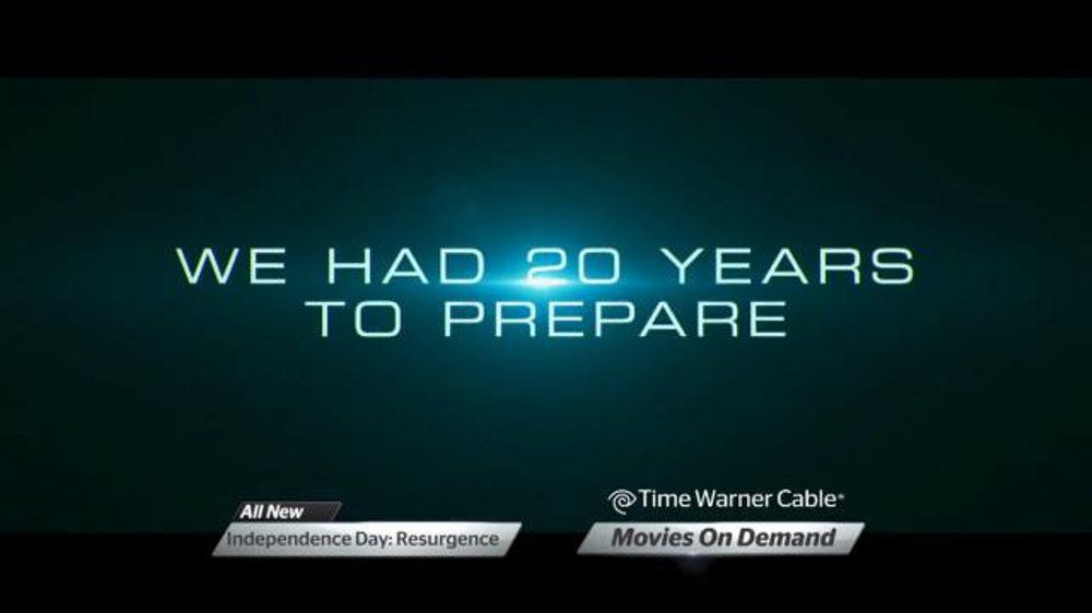 Time Warner Cable On Demand TV Commercial, 'Independence Day: Resurgence' -  Video