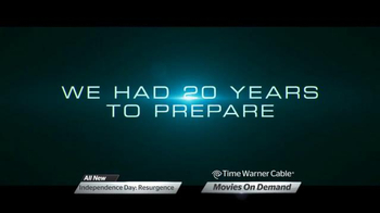 Time Warner Cable On Demand TV Spot, 'Independence Day: Resurgence'