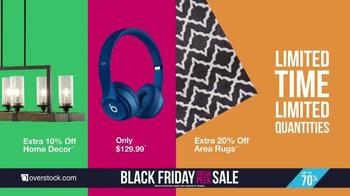 Overstock.com Black Friday Sneak Peek Sale TV Spot, 'Early Doorbusters' - Thumbnail 4
