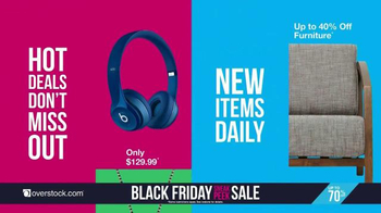 Overstock.com Black Friday Sneak Peek Sale TV Spot, 'Early Doorbusters' - Thumbnail 5