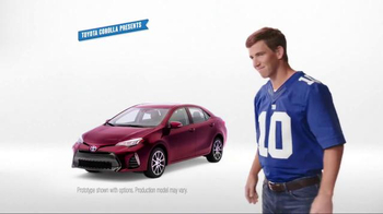 2017 Toyota Corolla TV Spot, 'How to With Eli Manning: Stylish Interior' - Thumbnail 1