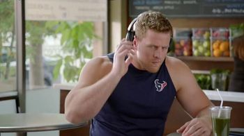 Bose QuietComfort 35 TV Spot, 'Get Closer' Featuring J.J. Watt - 280 commercial airings