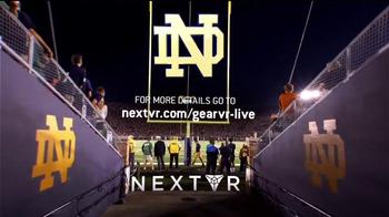 NextVR App TV Spot, 'NBC Sports: Stanford at Notre Dame' - Thumbnail 10