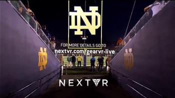 NextVR App TV Spot, 'NBC Sports: Stanford at Notre Dame' - Thumbnail 8