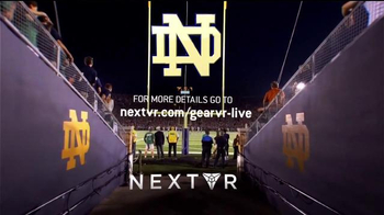 NextVR App TV Spot, 'NBC Sports: Stanford at Notre Dame' - Thumbnail 9