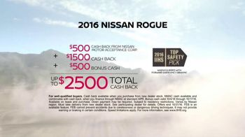 Nissan Year of the Truck & SUV Event TV Spot, 'Best-Selling Rogue' - Thumbnail 7