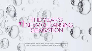 Garnier SkinActive Micellar Cleansing Water TV Spot, 'Cleansing Sensation' - Thumbnail 1
