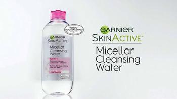 Garnier SkinActive Micellar Cleansing Water TV Spot, 'Cleansing Sensation' - Thumbnail 8