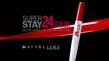Maybelline New York SuperStay 24 TV Spot, 'Vida' [Spanish] - Thumbnail 3