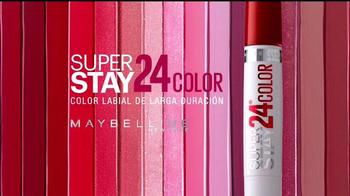 Maybelline New York SuperStay 24 TV Spot, 'Vida' [Spanish] - Thumbnail 9
