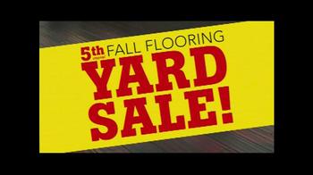 Lumber Liquidators Fall Flooring Yard Sale TV Spot, 'Special Announcement' - Thumbnail 2