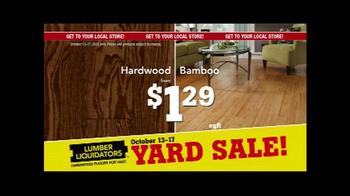 Lumber Liquidators Fall Flooring Yard Sale TV Spot, 'Special Announcement' - Thumbnail 5
