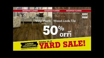 Lumber Liquidators Fall Flooring Yard Sale TV Spot, 'Special Announcement' - Thumbnail 6