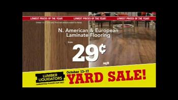 Lumber Liquidators Fall Flooring Yard Sale TV Spot, 'Special Announcement' - Thumbnail 7