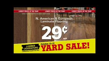 Lumber Liquidators Fall Flooring Yard Sale TV Spot, 'Special Announcement' - Thumbnail 8