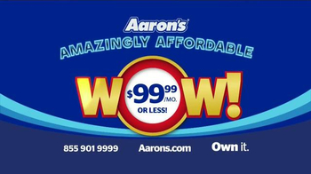 Aaron's Amazingly Affordable Wow Event TV Spot, 'Brands You Love' - Thumbnail 9
