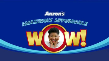 Aaron's Amazingly Affordable Wow Event TV Spot, 'Brands You Love'