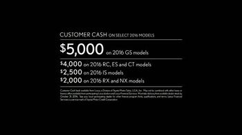 2016 Lexus NX TV Spot, 'Striking Design' - Thumbnail 4