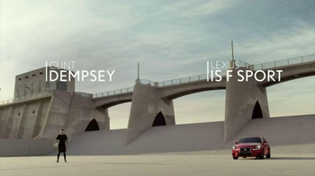 2016 Lexus IS F Sport TV Spot, 'Power' Featuring Clint Dempsey
