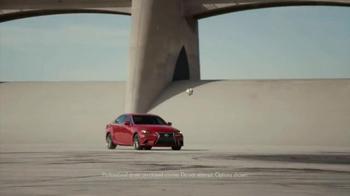 2016 Lexus IS F Sport TV Spot, 'Power' Featuring Clint Dempsey - Thumbnail 4