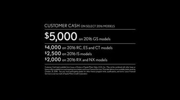 2016 Lexus IS F Sport TV Spot, 'Power' Featuring Clint Dempsey - Thumbnail 6