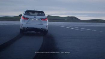 2016 Lexus RX TV Spot, 'Elevated: Customer Cash' - 3150 commercial airings
