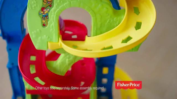 Little People Sit 'n Stand Skyway TV Spot, 'Little Racers' - Thumbnail 2