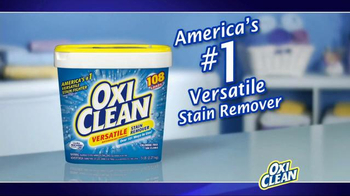 OxiClean Versatile Stain Remover TV Spot, 'Stain Is Gone' - Thumbnail 8