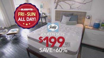 Sleepy's Columbus Day Sale TV Spot, 'Finals Days of Doorbusters'