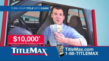 TitleMax TV Spot, 'Car & Title' - Thumbnail 1
