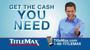 TitleMax TV Spot, 'Car & Title' - 10 commercial airings