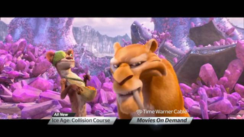 Time Warner Cable On Demand TV Spot, 'Ice Age: Collision Course'