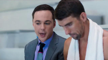 Intel TV Spot, 'The Pool' Featuring Michael Phelps, Jim Parsons - Thumbnail 1