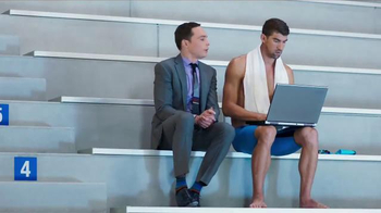 Intel TV Spot, 'The Pool' Featuring Michael Phelps, Jim Parsons - Thumbnail 2