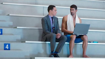 Intel TV Spot, 'The Pool' Featuring Michael Phelps, Jim Parsons - Thumbnail 3