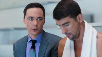 Intel TV Spot, 'The Pool' Featuring Michael Phelps, Jim Parsons - Thumbnail 4
