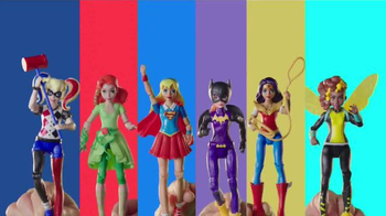 DC Super Hero Girls Super Hero High School Playset TV Spot, 'Gear Up'