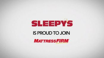 Sleepy's Largest Inventory Closeout TV Spot, 'The Mattress Firm Family'