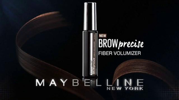 Maybelline New York Brow Precise Fiber Volumizer TV Spot, 'Precisely' - Thumbnail 5