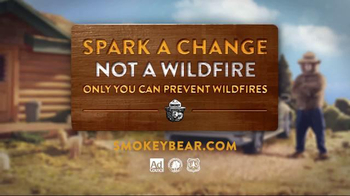 Smokey Bear Campaign TV Spot, 'Parking Over Tall Dry Grass' - Thumbnail 9