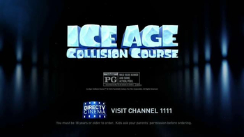 DIRECTV Cinema TV Spot, 'Ice Age: Collision Course' - Thumbnail 9