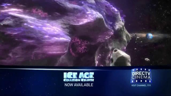DIRECTV Cinema TV Spot, 'Ice Age: Collision Course' - Thumbnail 2