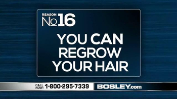 Bosley TV Spot, '101 Reasons' - Thumbnail 4