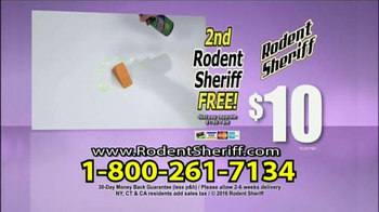 Rodent Sheriff TV Spot, 'Without Toxic Pesticides' - Thumbnail 9